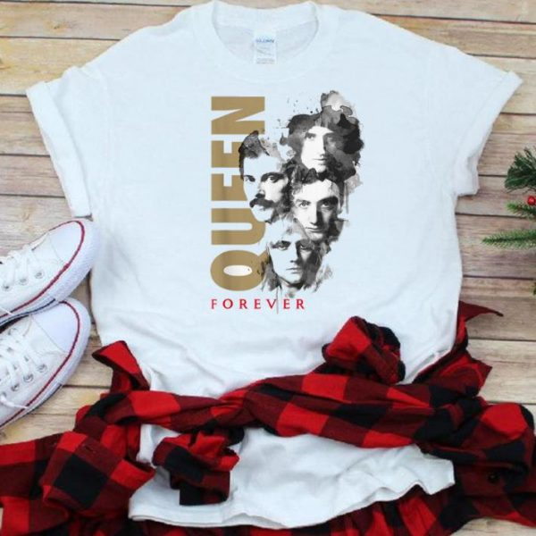 The best trend Queen Band Official Faces Ink Forever shirt