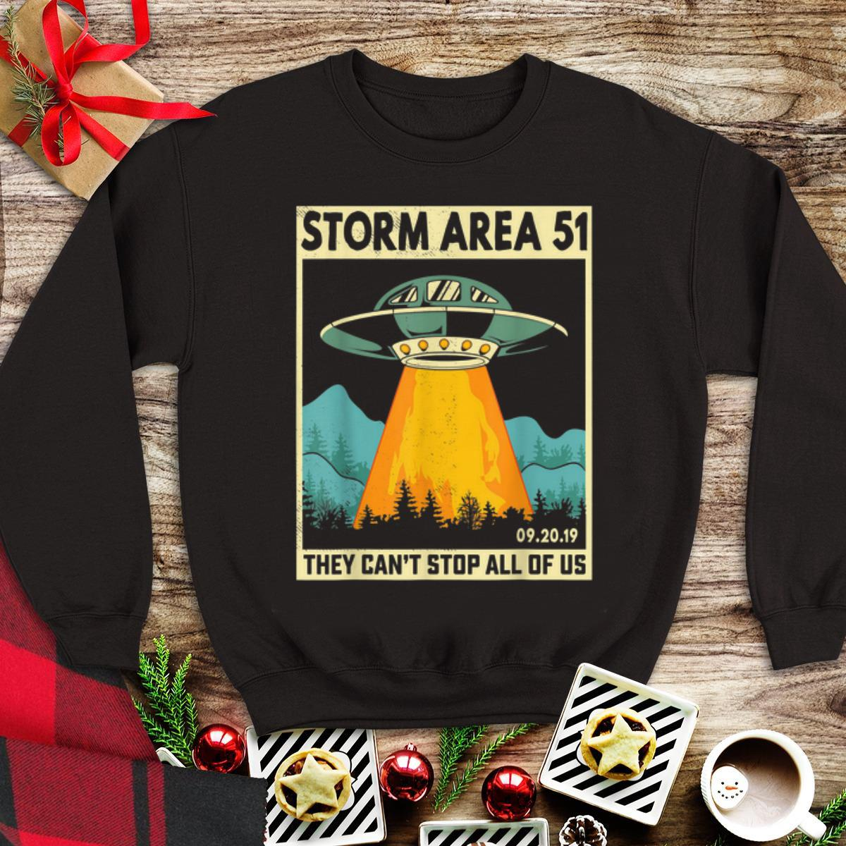UFO Alien Storm Area 51 They Can t Stop All Of Us tank top 1 - UFO Alien Storm Area 51 They Can't Stop All Of Us tank top