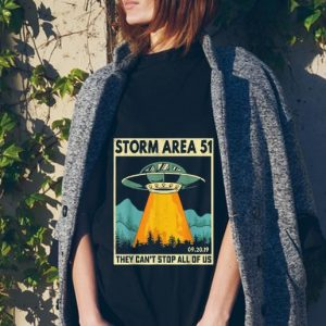 UFO Alien Storm Area 51 They Can't Stop All Of Us tank top