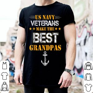 Us Navy Veterans Make The Best Grandpas Faded Grunge shirt