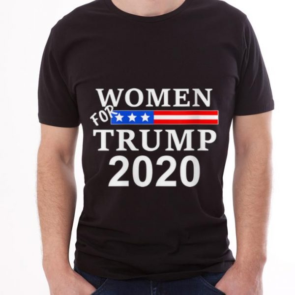 Womens Re-Elect Trump 2020 For Trump guy tee