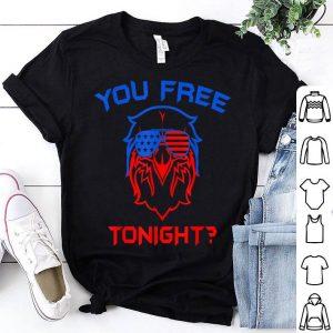 You Free Tonight American Sunglass Patriotic Eagle shirt