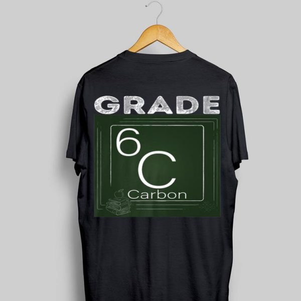 6th Grade Chemical Element carbon Back To School Premium shirt