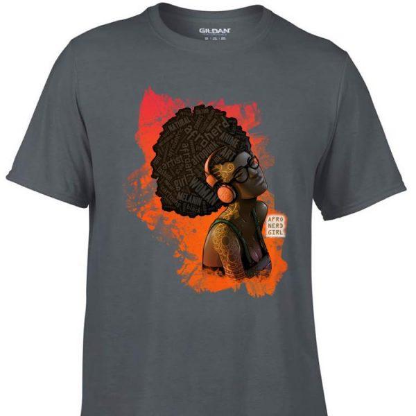 Awesome Afro Nerd Girl II shirt