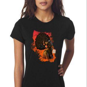 Awesome Afro Nerd Girl II shirt 2