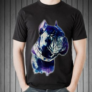 Awesome Cane Corso Watercolor Dog shirt 1