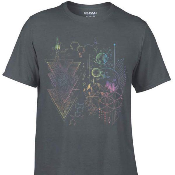 Awesome DMT Spirit Molecule Psychedelic Volunteer shirt