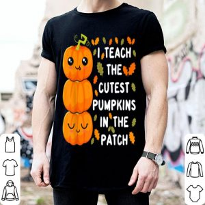Awesome Halloween Pre-k Teacher Cutest Pumpkins Gift shirt