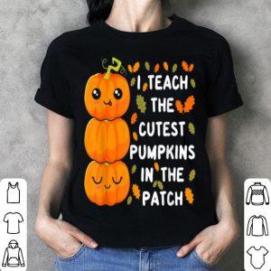 Awesome Halloween Pre-k Teacher Cutest Pumpkins Gift shirt
