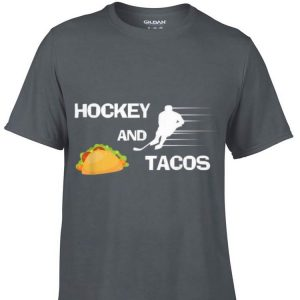 Awesome Hockey And tacos Sport shirt