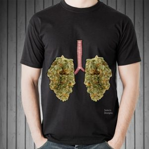 Awesome Lungs Marijuana Cannabis Buds shirt