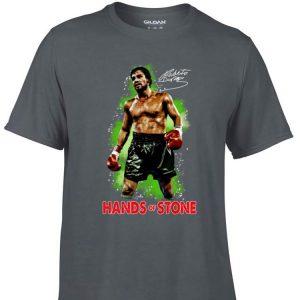 Awesome Roberto Duran Hand Of Stone Signature shirt