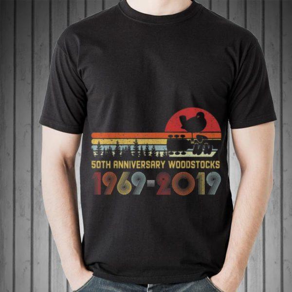 Awesome Vintage Woodstocks 50th Anniversary Peace Love Vintage shirt