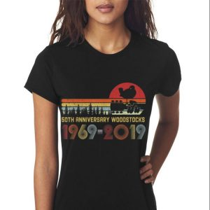 Awesome Vintage Woodstocks 50th Anniversary Peace Love Vintage shirt 2