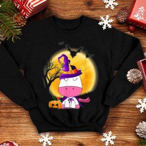 Beautiful Cute Unicorn Hat Witch Halloween Women Girls Gifts shirt