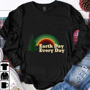 Funny Earth Day Everyday Rainbow Pine Tree shirt