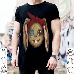 Funny Halloween Zombie Bunny Rabbit Monster Men Women Kids Funny shirt