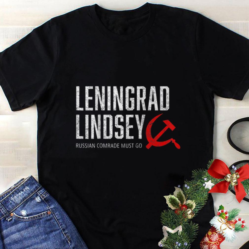 Funny Leningard Lindsey Graham Russian Comrade Must Go 2020 Vote shirt 1 - Funny Leningard Lindsey Graham Russian Comrade Must Go 2020 Vote shirt
