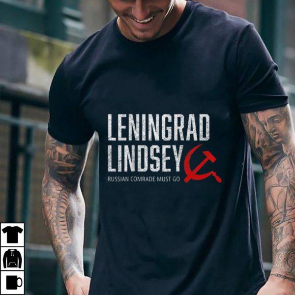 Funny Leningard Lindsey Graham Russian Comrade Must Go 2020 Vote shirt
