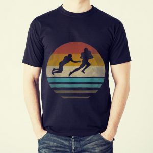Funny Vintage Old School American Football Sport shirt
