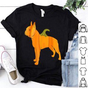 Hot Boston Terrier Women Halloween Pumpkin Carving Gift shirt