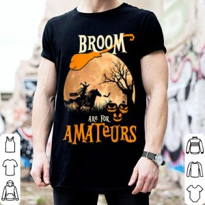 Hot Brooms Are For Amateurs Horse Halloween Costume Funny Gift shirt