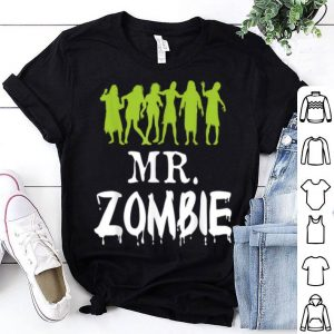 Hot Mr. Zombie Couple Matching Halloween Party Costume Gift shirt