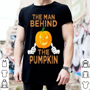 Official Mens Halloween Pregnancy Dad To Be Baby Reveal Funny Pumpkin Men shirt