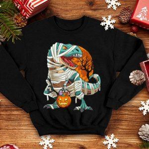 Premium Dinosaur Pumpkin T Rex Halloween Costume For Kids Boys Gift shirt