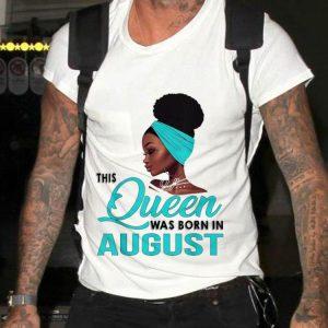 Queen Was Born In August Black Women sweater