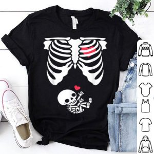 Top Baby Skeleton Pregnancy - Halloween shirt