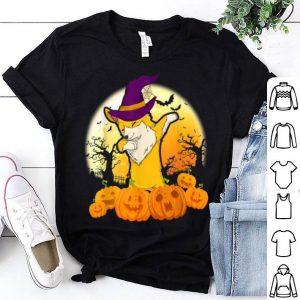 Top Corgi Dog Dabbing Halloween Costume Gift shirt