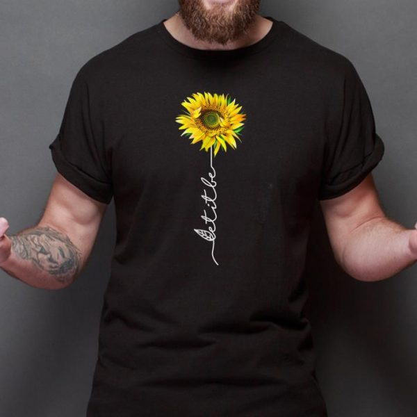 Top Let It Be Sunflower shirt