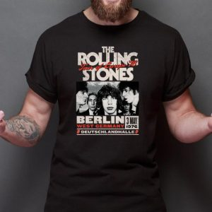 Top The Rolling Stones Tour Of Europe 76 Berlin shirt