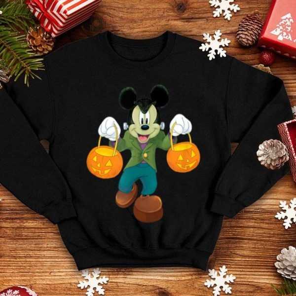 Awesome Disney Halloween Mickey Mouse Frankenstein shirt
