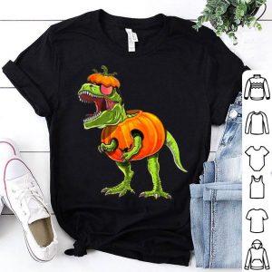 Awesome Halloween T Rex Dinosaurs Halloween Pumpkin Boys shirt