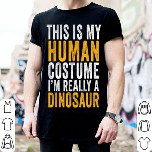 Awesome This Is My Dinosaur Costume Halloween Men Women Kids shirt