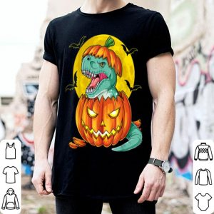 Beautiful Dinosaur Pumpkin Funny Halloween Gift Men Pumpkasaurus T Rex shirt