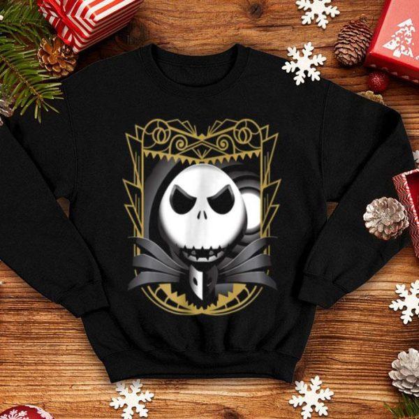 Beautiful Disney Nightmare Before Christmas Ornate Jack shirt