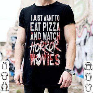 Beautiful Horror Movie Fan - Halloween Pizza Gift shirt