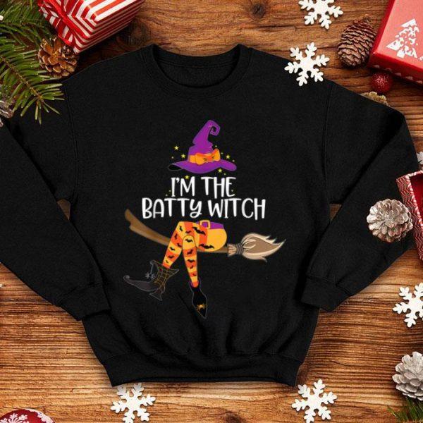 Beautiful Im the Batty Witch Halloween Matching Group Costume shirt