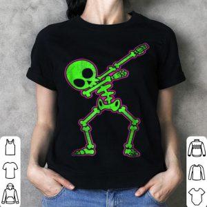 Dabbing Skeleton Halloween Dab shirt