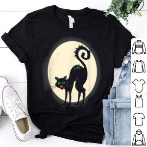 Funny Scary Black Cat Halloween For Men Women, Cat Lovers Gift shirt