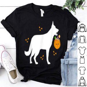 German Shepherd Halloween Costume Outfit Pumpkin Dog shirt