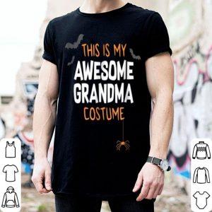 Hot Awesome Grandma Costume, Funny Cute Halloween Gift shirt