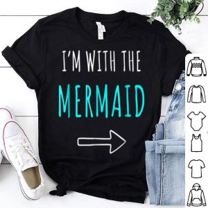 Mermaid Halloween Parents Or Couples Costume shirt