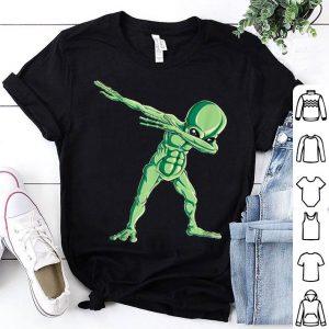 Nice Dabbing Alien Dab Hip Hop Funny UFO Gift Boys Kids shirt