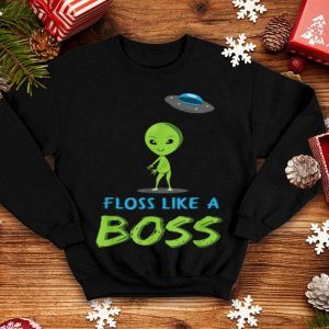 Nice Floss Boss Alien Spaceship Halloween Costume shirt