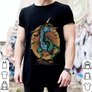 Nice Unicornasaurus Rex Halloween Dinosaur Zombie T-Rex Unicorn shirt