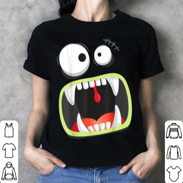 Official Halloween Funny Big Monster Face - Costume Party shirt